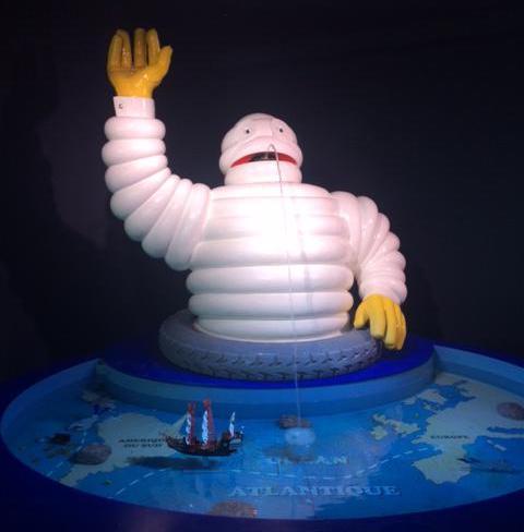 le célèbre Bibendum Michelin