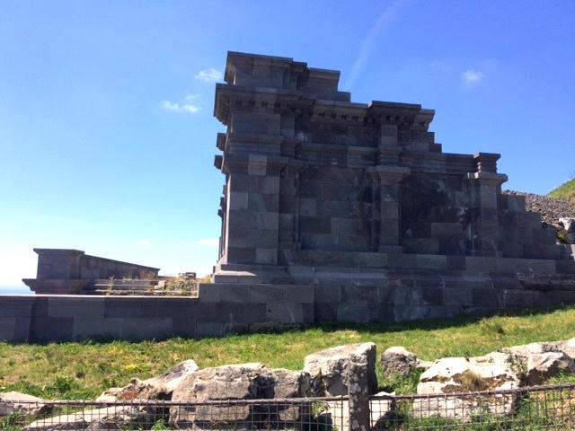 temple de Mercure au Puy de Dome